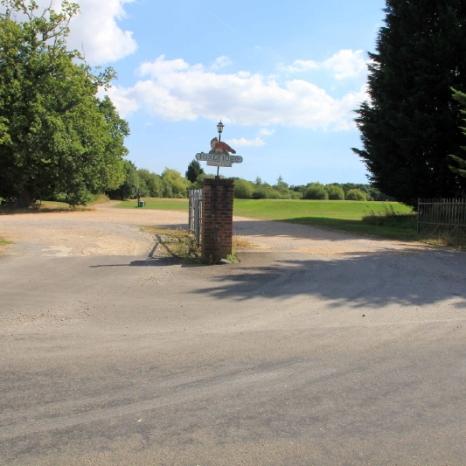 Entrance from Foxbridge Lane