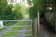 A Public Footpath runs through Barn Wood