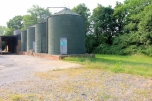 (Brownfield) Photo 07: four disused grain silos