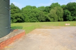 (Brownfield) Photo 08: grassed area to be included with B2/B8 land to provide buffer to ancient woodland