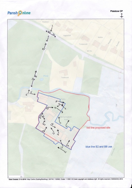 Little Springfield Farm (Brownfield) - Photo Plan