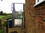 Plaistow Multi-Use Games Area entrance (Photo: Sean Barriskill)